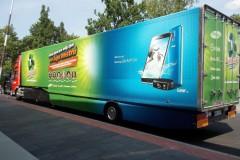 Promotruck Samsung - Gambrinus tour 2014